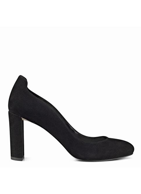 Nine West %100 Süet Klasik Ayakkabı Siyah